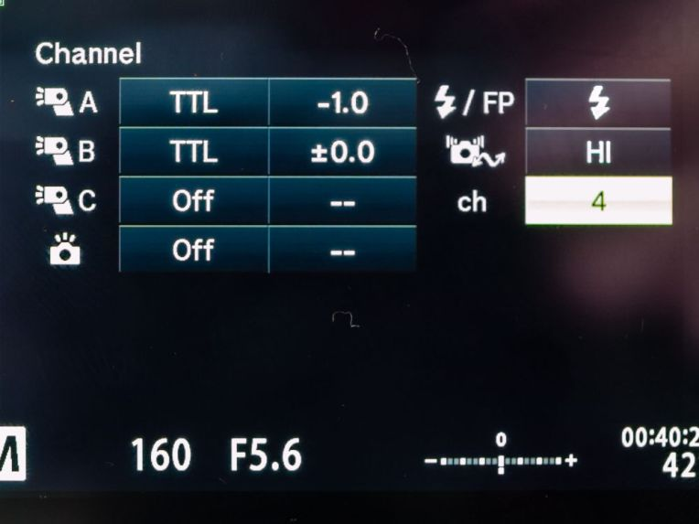 Setting RC Channel