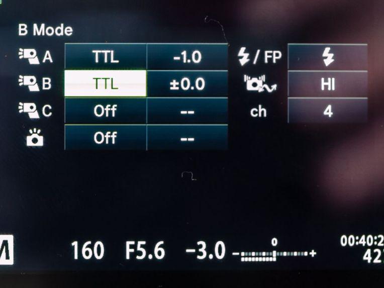 RC TTL control