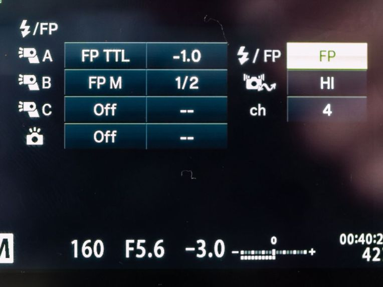 RC FP high speed sync