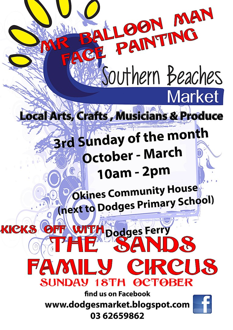 poster southern beaches market
