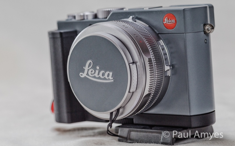 Leica want you and everyone around you to know that you are using one of its cameras.